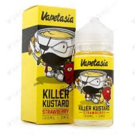 Vapetasia Vapetasia - Killer Kustard Strawberry 3 MG 100 ML