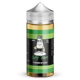 Salty Man Low Nicotine Salt E-Liquid 7 Pound Up Cake / 0 mg - Salty Man Low Nicotine Salt  100ML