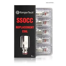 Kangertech Kangertech SSOCC Coil Top Tanks .5Ohm SUS316L-priced per coil