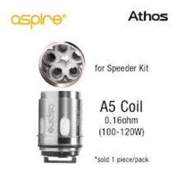 Aspire Aspire Athos replacement atomizer A5 .16ohm-priced per coil