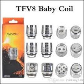 SMOK SMOK TFV8 Coils  V8 BABY - M2 CORE (0.25)  -priced  per coil