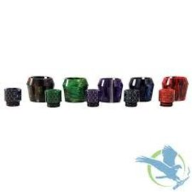 Resin Resin Replacement Tube with drip tip for Smok TFV8  Big Baby Tank  Assorted Colors
