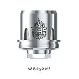SMOK SMOK Smok TFV8 X Baby Beast Brother tank Baby V8 X M2.25Ohm-priced per coil