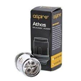 Aspire Aspire Athos replacement atomizer A3 60-75w-priced per coil