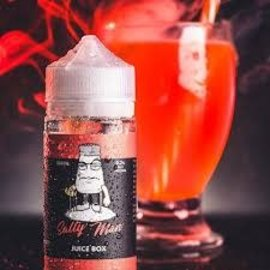 Salty Man Low Nicotine Salt E-Liquid Juice Box / 6 mg - Salty Man Low Nicotine Salt  100ML