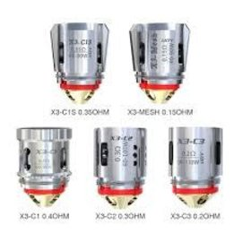 IJoy Ijoy  Captain X3-X3S  Coils .3ohm 60-100W-priced per coil