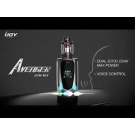 IJoy Ijoy Avenger 270 234W Voice Control TC Kit w/4.7ml Avenger tank-Mirror Blue