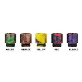 Drip Tips Resin Resin Drip Tip TFV8-TFV12 Style 143 - Red