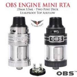 Obs Obs Engine Mini RTA 3.5 ml tank Black