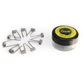 CoilArt CoilArt Pre-built Coils-Half Staggered Fused Clapton  .27 ohm -Priced Per 2 Coils