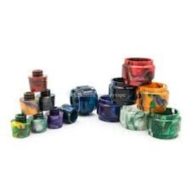 Resin Resin Replacement Tube with drip tip Assorted Colors for Smok Prince Tank