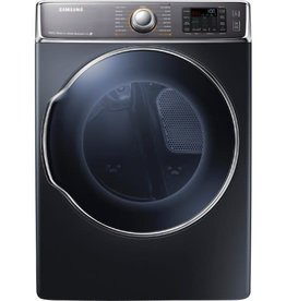 "Samsung Samsung 30"" 9.5 Steam Electric Dryer Onyx"