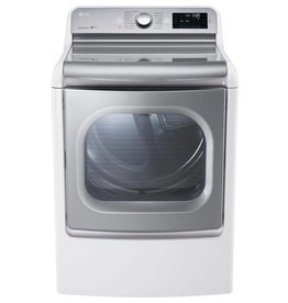 LG LG 9.0 Steam Electric Dryer White
