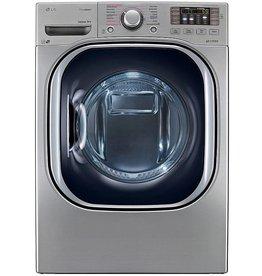 LG LG 7.3 Steam EcoHybrid Electric Dryer Platinum