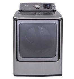 """Samsung Samsung 30"""" 9.5 Steam Electric Dryer Platinum"""