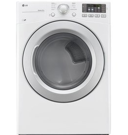 LG LG 7.4 Gas Dryer White
