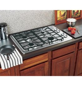 """GE GE 30"""" Gas Cooktop Stainless"""