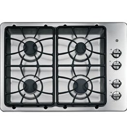 "GE GE 30"" Gas Cooktop Stainless"