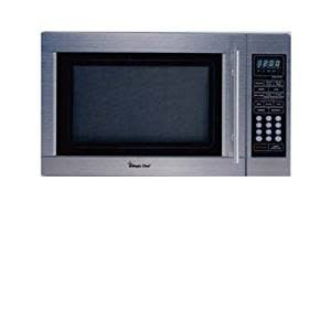 Magic Chef Magic Chef 1.1 Countertop Microwave Stainless