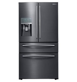 Samsung Samsung 27.8 Drawer French Door Refrigerator Black Stainless