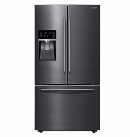 Samsung Samsung 28.1 French Door Refrigerator Black Stainless