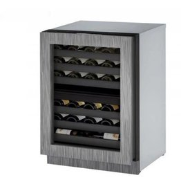 "U-Line U-Line 24"" 43 Bottle RH Wine Cooler Wood Finish"