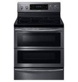 Samsung Samsung Freestanding Convection FlexDuo Electric Range Black Stainless