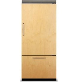 "Miele Miele 36"" 18.3 Built-In Bottom Freezer Refrigerator Panel Ready"