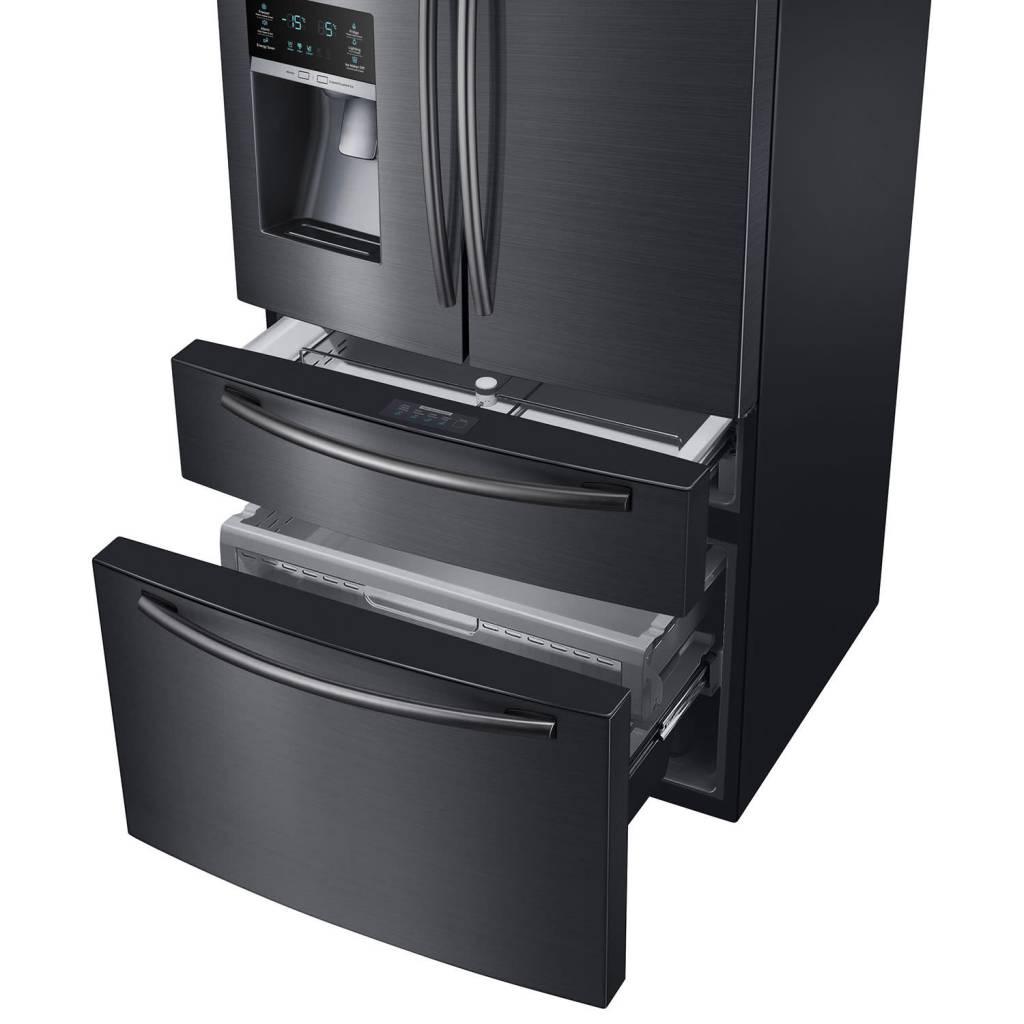 Samsung 33 247 Drawer French Door Refrigerator Black Stainless