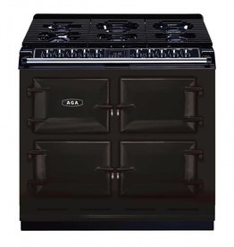 "AGA AGA 39"" Slide-In Convection Dual Fuel Range Black"