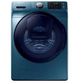 Samsung Samsung 4.5 Steam AddWash Front Load Washer Blue