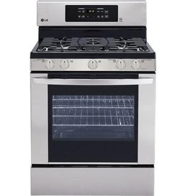 LG LG Freestanding Convection Gas Range Stainless
