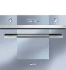 """Smeg Smeg 24"""" Steam Convection Wall Oven Stainless"""