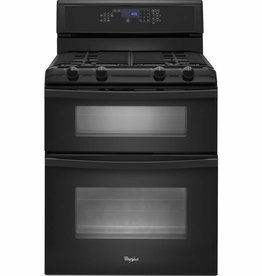 Whirlpool Whirlpool Double Gas Convection Range Black