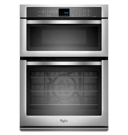 "Whirlpool Whirlpool 30"" Microwave Convection Wall Oven Combo Stainless"