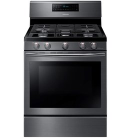 Samsung Samsung Freestanding Convection Gas Range Black Stainless