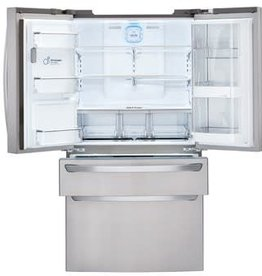 LG LG 29.7 French Door Refrigerator Stainless Steel