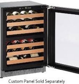 "U-Line U-Line 24"" 43 Bottle RH Wine Cooler Panel Ready"