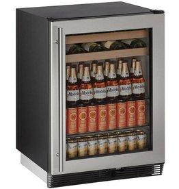 "U-Line U-Line 24"" 5.4 Built-In Beverage Center Stainless"