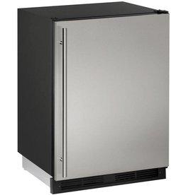 "U-Line U-Line 24"" 5.2 Built-In Mini Refrigerator Stainless"