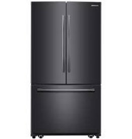 Samsung Samsung 25.5 French Door Refrigerator Black Stainless