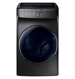 Samsung Samsung 5.5 Steam Front Load Washer Black Stainless
