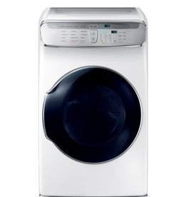 Samsung Samsung 7.5 FlexDry Steam Electric Dryer White