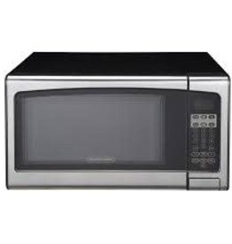 Proctor Silex Lowes 1.1 1000W Countertop Microwave Stainless