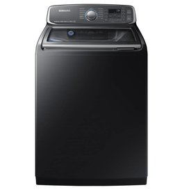 Samsung Samsung 5.2 Steam Top Load Washer Black Stainless