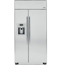 "GE GE Profile 48"" 29.6 Built-In SxS Refrigerator Stainless"