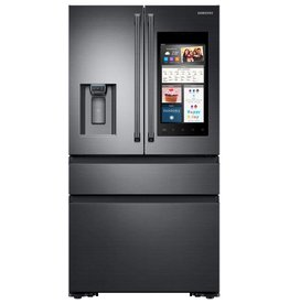 Samsung Samsung 22.6 Counter Depth Family Hub French Door Family Refrigerator Black Stainless