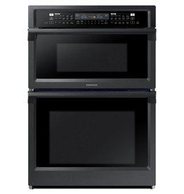 "Samsung Samsung 30"" Microwave Convection Wall Oven Combo Black Stainless"