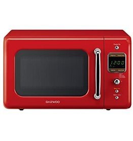 Daewoo Daewoo 0.7 700W Counter Microwave Red