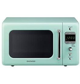 Daewoo Daewoo 0.7 Counter Microwave Mint Green